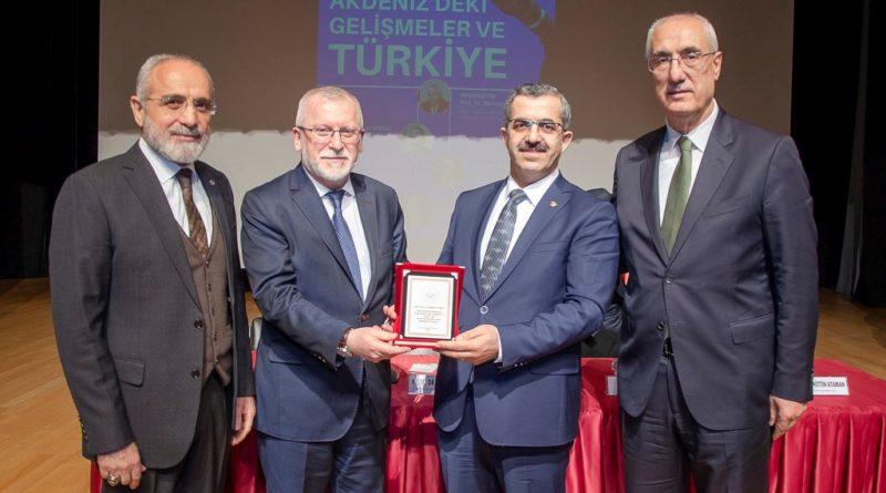 BAİBÜ'de Doğu Akdeniz'deki gelişmeler ve Türkiye paneli