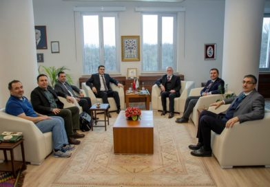 Cumhurbaşkanı Başdanışmanı Yalçın Topçu'dan, Rektör Alişarlı'ya ziyaret